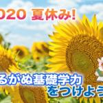 2020年|夏期講習募集開始しました!
